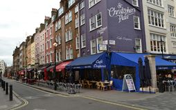 Restaurants St.Christophers Place London Royalty Free Stock Photos