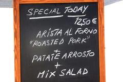 Restauranttafel Lizenzfreie Stockfotografie