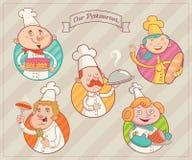 Restauranttraumteam Stockfoto