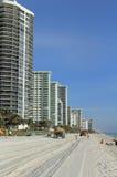 Restauração da praia do Fort Lauderdale Foto de Stock Royalty Free