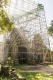 Restauratie oude tempel Royalty-vrije Stock Foto