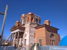 Restauratie van de Kathedraal stock afbeeldingen
