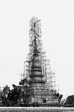 Restauratie van de pagode Stock Afbeelding
