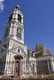 Restauratie van een oude mooie kerk Royalty-vrije Stock Afbeeldingen