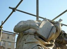 Restauratie van monumenten royalty-vrije stock afbeelding