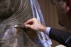Restauratie van paard Royalty-vrije Stock Afbeeldingen