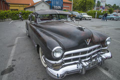 Restauratieproject, cadillacreeks 62 van 1949 sedan - fvl Royalty-vrije Stock Foto
