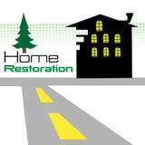 Restauration à la maison Image libre de droits