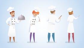 Restauration culinaire d'illustration de concept illustration libre de droits