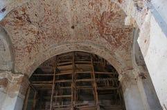 Restauration de l'église orthodoxe Photo libre de droits