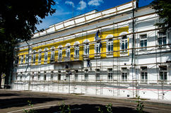 Restauration du bâtiment Photos libres de droits