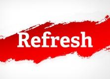 Restaure el ejemplo rojo del fondo del extracto del cepillo libre illustration