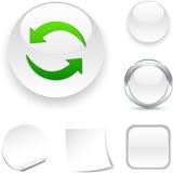 Restaure el icono. Imágenes de archivo libres de regalías