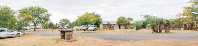 Restcamp di Lang Elsies Kraal nel parco nazionale di Bontebok Immagini Stock Libere da Diritti