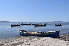 Reste d'un bateau de pêche photo libre de droits