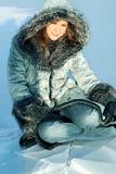Reste de l'hiver Image libre de droits