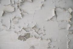 Reste der alten Farbe auf der Wand Lizenzfreie Stockfotografie