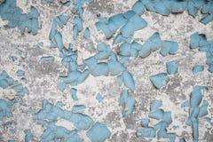 Reste der alten Farbe auf der Wand Lizenzfreies Stockfoto