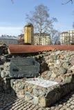 Reste von türkischen Kasernen des 16. Jahrhunderts in Sofia, Bulgarien Lizenzfreie Stockbilder