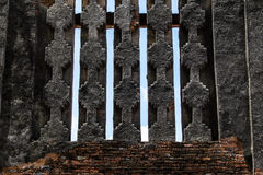 Restent le mur Photographie stock libre de droits
