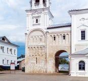 Rester de prince Andrey Bogolyubskiy (12ème c de palais ) L'UNESCO Image stock