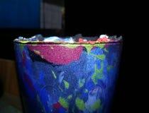 Resterande Rubber färgpulver Royaltyfria Foton