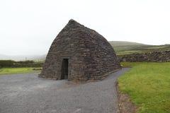Restes d'église du 7ème siècle Photo stock