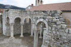 Restes de l'église Image libre de droits