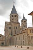 Restes de l'abbaye cluny image libre de droits