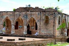 Restes de la mosquée du 18ème siècle Pattani Thaïlande de Se de Krue photographie stock libre de droits