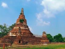 Restes de la pagoda image libre de droits