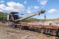 Restes des vieilles mines de Riotinto à Huelva Espagne image stock