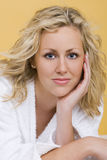 Restful Beauty Stock Photography