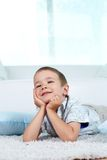 Restful boy Royalty Free Stock Photo