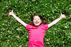 Restful child Stock Images
