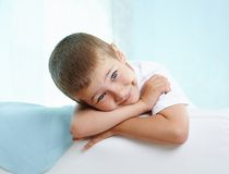 Restful child Royalty Free Stock Photos