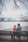 Restful couple Royalty Free Stock Photography