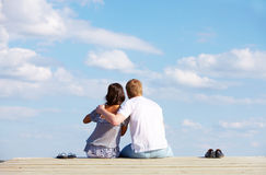 Restful dates Royalty Free Stock Images