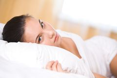 Restful girl Royalty Free Stock Photography