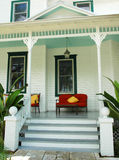 Restful House Porch stock photography