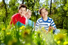 Restful kids Stock Photos