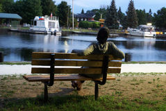 Restful parków sen Zdjęcia Royalty Free