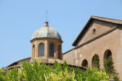Resti吉卜赛-罗马-意大利-罗马考古学站点 库存照片