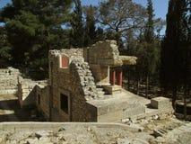 Resti del sito archeologico antico di Cnosso, Candia, isola di Creta Fotografie Stock