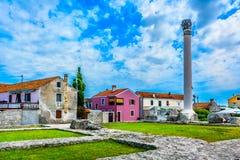 Resti del tempio romano, Nin Immagine Stock Libera da Diritti