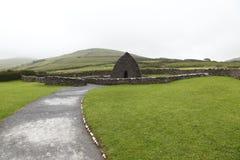 Resti della chiesa del VII secolo Immagini Stock