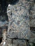 Resti della chiesa Yeghvard di Zoravar Immagini Stock