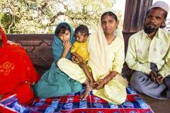 Resti della famiglia in Jama Masjid Mosque, Fotografia Stock
