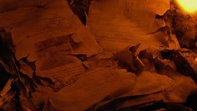 Resti delle pagine divampate in fuoco - contenuto generico video d archivio