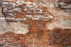 Resti di gesso in rovine di Polonnaruwa immagini stock libere da diritti